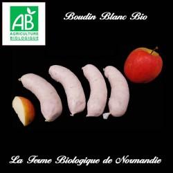 Boudin blanc de porc bio 220g