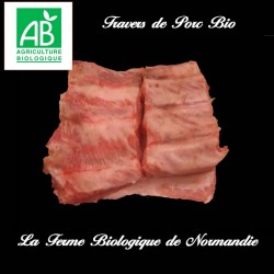 Travers de porc bio 500g