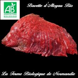 Succulente bavette d'aloyau bio maturée