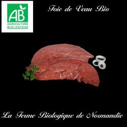 Délicieux foie de veau bio 250g