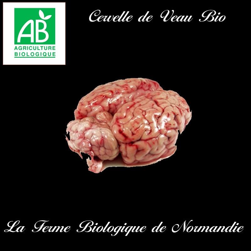 Délicieuse cervelle de veau bio poids 350g environ.