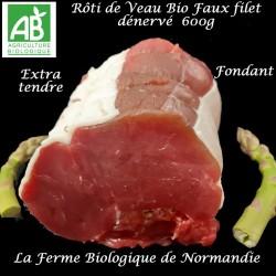 Rôti de Veau faux filet bio...