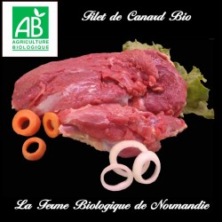 Sublime filet de canard bio poids 200g
