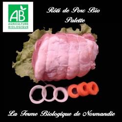 Succulent Colis de porc bio poids 3 kilos