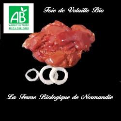 Foie de volaille bio 180g