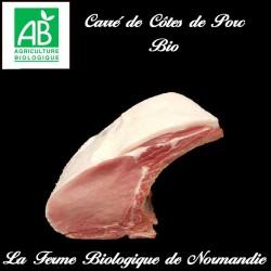 carré cotes de porc bio 1 kilo