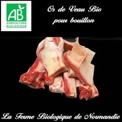 Os de veau bio poids 500g