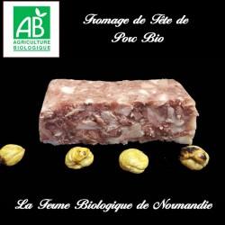 Fromage de tête de porc bio...