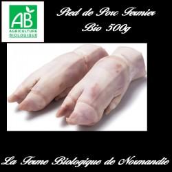 Succulents pieds de porc fermier bio 500g