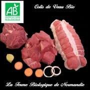 Veau bio en direct du producteur