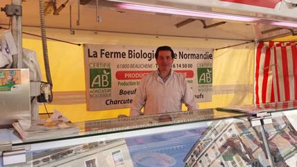 ferme biologique de Normandie a Poissy